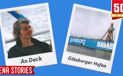 Stena Line - An Bord und in Göteborg