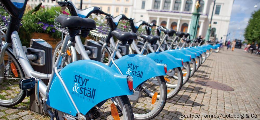 Styr & Ställ - Mietfahrräder in Göteborg