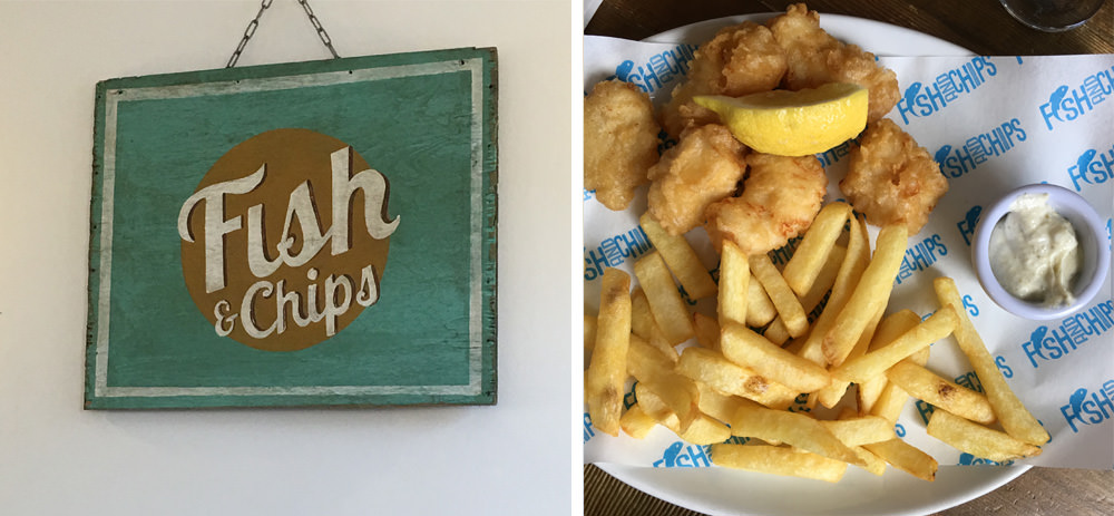 Fish & Chips in Notting Hill